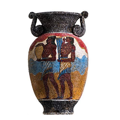 Antico Greco Minoan Anfora Portatori Di Tazza In Ceramica Fatta A Mano Vaso Di Ceramica Grande