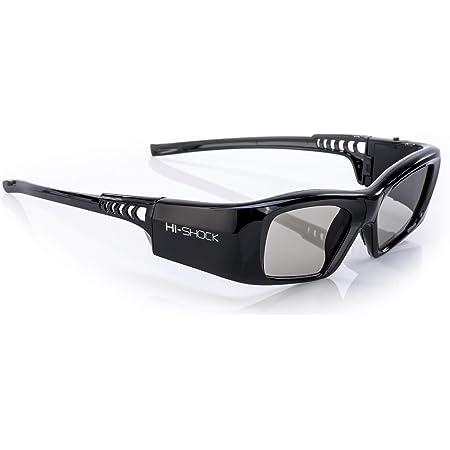 Hi Shock Bt Rf Pro Black Diamond Bluetooth 3d Brille Für 3dtv 3d Rf Beamer Von Sony Epson Jvc Samsung Panasonic Shutterbrille 120 Hz Wiederaufladbar 39g Funk Heimkino