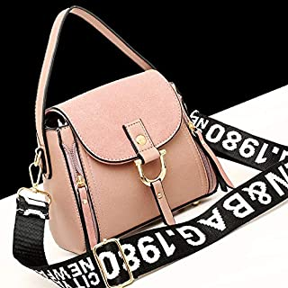 DHINGM Classic Shoulder Bag, Commuter Solid Color Shoulder Bag, Leather Handbag, Mini Diagonal Bag, Light Color, Soft, Stylish, Beautiful, Practical, Stylish, Beautiful Appearance (Color : Gray)