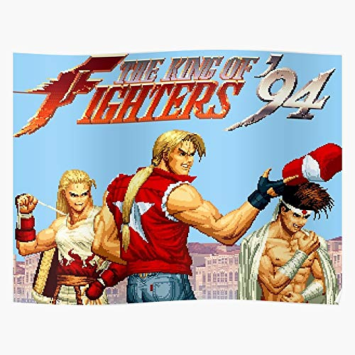 Generic The King 7 96 Fury 97 98 94 Waku Fatal 95 Fighters of Home Decor Wall Art Print Poster !