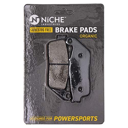 NICHE Brake Pad Set for Honda Shadow Ace 750 1100 Fury Triumph Bonneville BMW Front Rear Organic