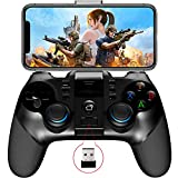 IPEGA PG-9156 Mobile Game Controller 2.4G Wireless Gamepad Trigger Pubg Mobile Phone Game Controller Joystick Compatible with iPhone iOS/Android Phone/Tablet/PC/Smart TV
