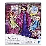 Disney 2 Reina de Hielo Iduna Schlummertraum con muñecas Elsa y Anna la Reina Iduna Canta en...