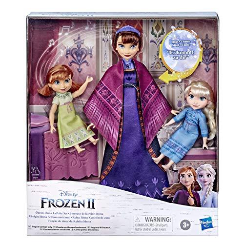 Disneys Die Eiskönigin 2 Königin Iduna Schlummertraum mit ELSA und Anna Puppen, Königin Iduna singt in DEUTSCH, inspiriert von Disneys Die Eiskönigin 2