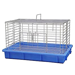 ANJJ Large Metal Bird Cage Budgie Canary Finch Parrot Birdcage