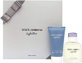 Dolce & Gabbana Light Blue Pour Homme 2 Piece Men's Gift Set