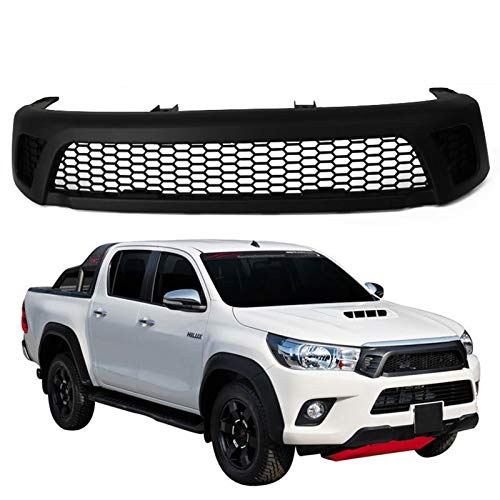 51m0uJ2eTXL - Frontgrill Front Racing Grill Zubehör/Fit for/T o y o t a Hilux Reco 2016 2017 2018