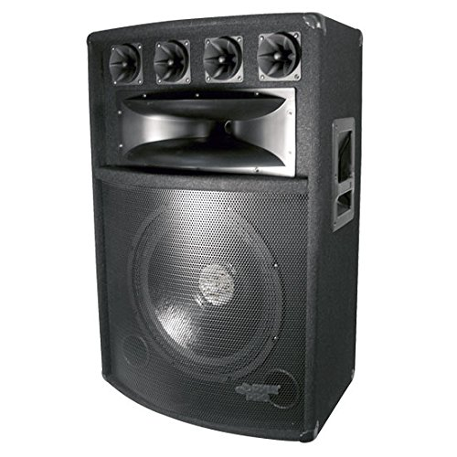 Hot Sale Pyle-Pro PADH1589 800 Watt 15'' Six-Way Speaker Cabinet