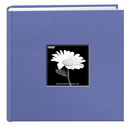 Pioneer 200 Pocket Fabric Frame Cover Photo Album, Apple Red - TWO PACK