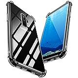 PNEWQNE Samsung Galaxy S9 Plusケース/Galaxy S9+ケース クリア 全面保護カバー 耐衝撃 衝撃……