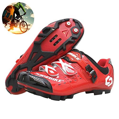 Zapatillas De Ciclismo MTB Para Bicicleta, Tacos Para Zapatillas De Ciclismo Zapatos...