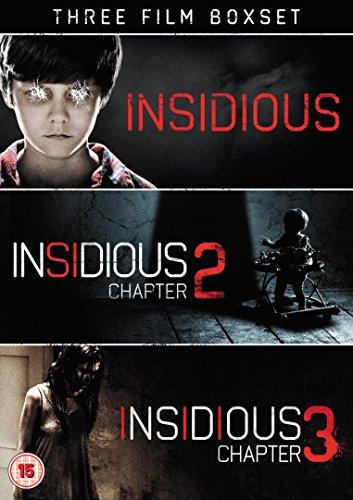 Insidious Triple: Insidious/Insidious 2/Insidious 3 [3 DVDs] [UK Import]
