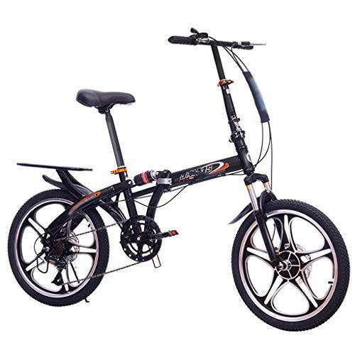 TYXTYX 20 Zoll Klapprad Faltrad Nabenschaltung Leicht Tragbares Klapp Fahrrad Folding Bike für Damen Herren Student,Unisex Erwachsene