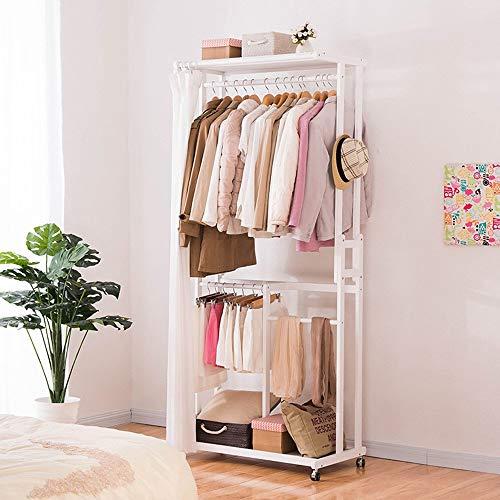 POETRY Jas en Hoed Rack-Europese Stijl Houten Stand garderobe Type Verwijderbare garderobe Coat Stand Planken