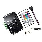 RF RGBW Contrôleur 24 Key Music (12 A) pour 5050 3528 LED bande de télécommande...