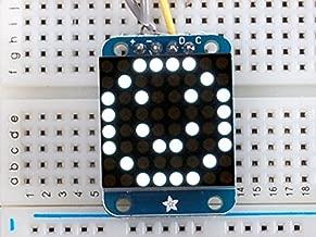 Adafruit Mini 8x8 LED Matrix w/I2C Backpack - Ultra Bright White [ADA1080]