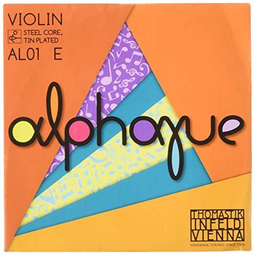 """Thomastik Einzelsaite für Violine ALPHAYUE 4/4, Mensur 325mm/12.8\"""" Stahlkern - E-Saite Stahl verzinnt"""