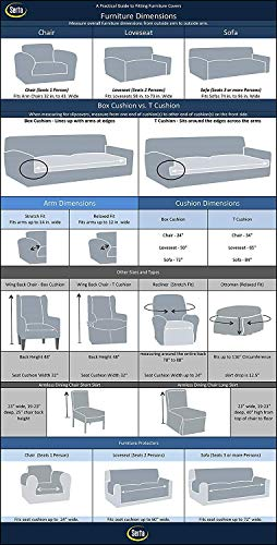 Serta 4 Piece Stretch Recliner Chair Cover