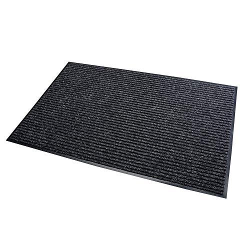Acerto 30182 Alfombrilla antisuciedad Negra 40x60cm