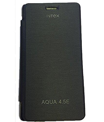 brynn flip cover for intex aqua 4.5e -black