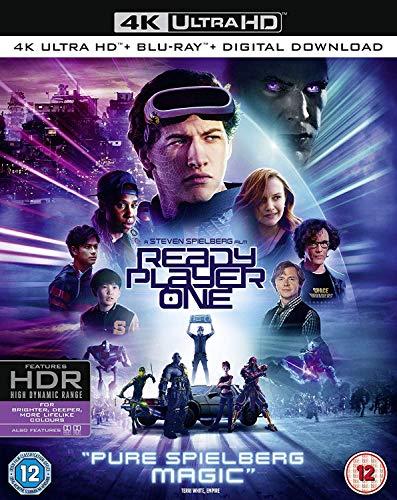 Ready Player One [4K Ultra HD] [2018] [Blu-ray]