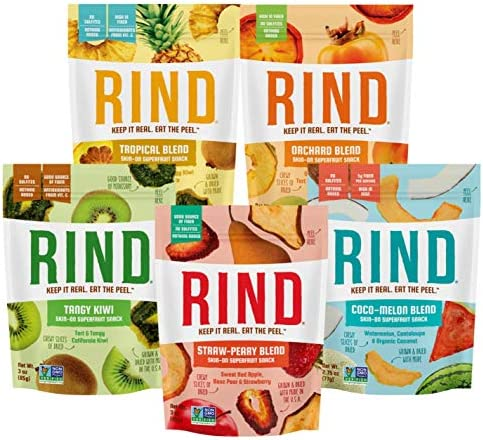 RIND Snacks Dried Fruit Superfood Variety Pack with Tangy Kiwi Straw Peary Coco Melon Orchard product image