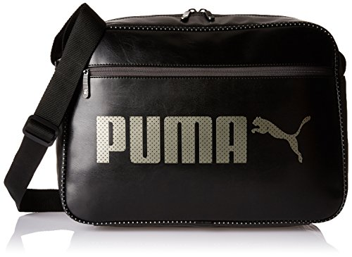 Puma Campus Reporter Shoulder Sacs Mixte, Black, Taille...