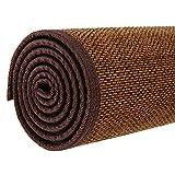 JIAJUAN Fibra Natural Japonés Tradicional Bambú Antideslizante Piso Alfombras Estera Interior Casa Salon Sala Habitación Zona Alfombra (Color : D, Tamaño : 90x180cm)