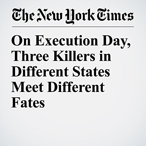 On Execution Day, Three Killers in Different States Meet Different Fates copertina