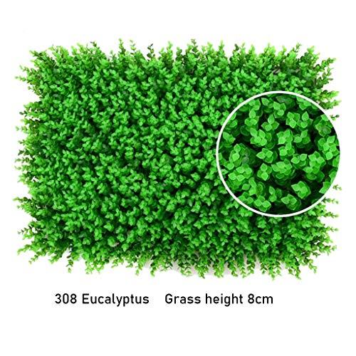 PING- Künstliche Hedges Panels, Beschneidungspflanze Privatsphäre Zaun Bildschirm Grünes Brett 40x60cm / Stück Geeignet for Innendekorationen Im Innengarten (Size : 16pack)