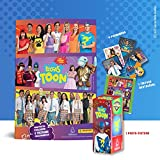 Livro Ilustrado oficial Luccas Toon - Brochura + 10 envelopes de cromos