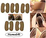 Nasmodo® Fabric Sticky heel pad for heel pain,Cushion shoe bite Pads Back heel