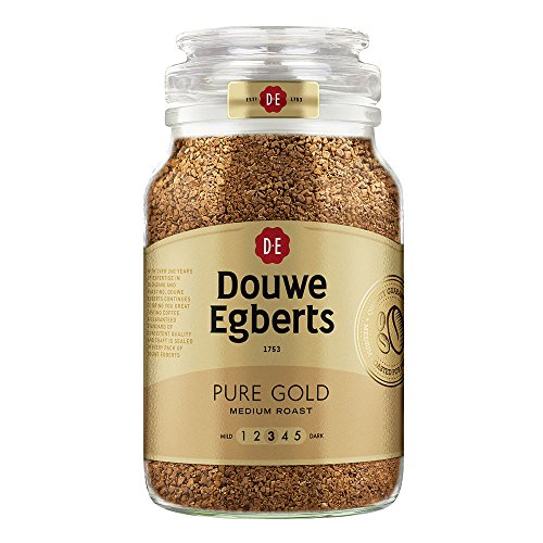 Douwe Egberts Pure Gold Instant Coffee Granules 400g (Pack of 6)