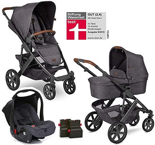 ABC Design Salsa 4 Street Modell 2020 ABC Kinderwagen 3 in 1 Set Inklusive Babyschale