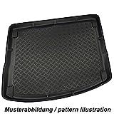 Basic–Alfombrilla Maletero compartimento bañera para maletero Protección con borde alto y aspecto de chapa diamantada