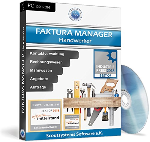 Faktura Manager Handwerker Software - Rechnungen, Angebote, Kunden