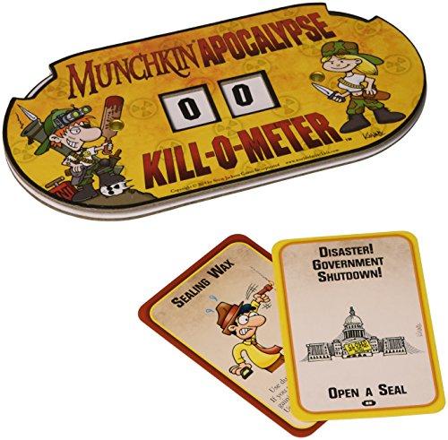 Steve Jackson Games sjg05572–Munchkin Apocalypse Kill Tarjeta de Metros de O, Parte