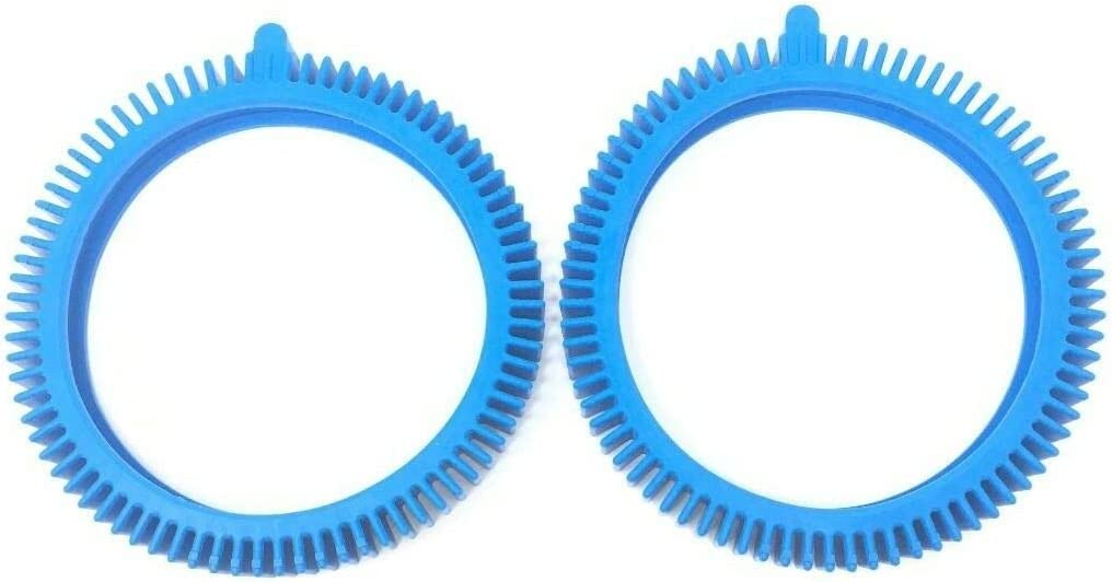 Woxuyzes 2 Pack Pool Cleaner Front Tire Replacement Limited time cheap sale 89658400 Dealing full price reduction for