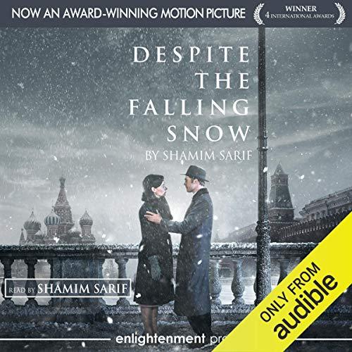 Despite the Falling Snow audiobook cover art