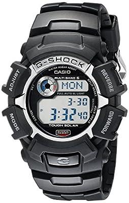 Casio Men's G-Shock GW2310-1 Tough Solar Atomic Black Resin Sport Watch