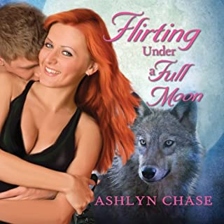 Flirting Under a Full Moon audiobook cover art