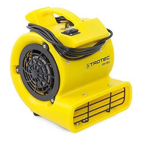 TROTEC Turbolüfter TFV 10 S mit Einer maximalen 355 m³/h Luftmenge und 90 Pa Luftdruck