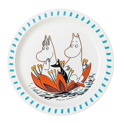 Moomin Baby Plate - Waterlily