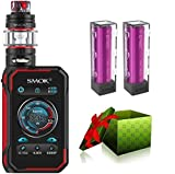 Smok G-Priv 3 230W Luxe Edition E-cigarrillo Starter Set TC Vape Box Mod TC kit EU 2ML E-Cigarette - SIN NICOTINA (Negro)