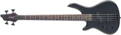 Stagg BC300LH 4-String Fusion Electric Left-Handed Bass Guitar Black