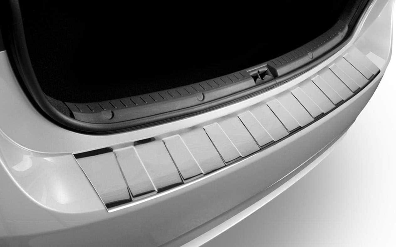 5 Edelstahl Ladekantenschutz Heckleiste ma/ßgefertigt kompatibel mit Porsche Cayenne III SUV 2017-