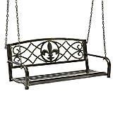 Best Choice Products Outdoor Furniture Metal Fleur-De-Lis Hanging...
