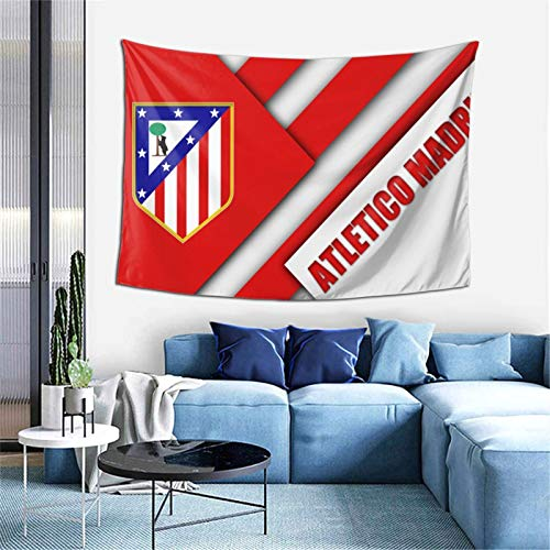Atle-Tico Ma-Drid Bedroom Living Room Decoration Wall Hanging Tapestry Bedspread Picnic Sheets 60*40inch