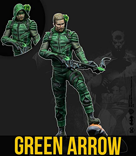 Knight Models Batman/DC Universe Miniature Game 2nd Edition Miniature Green Arrow *English Ver