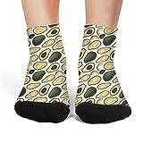 アボカド 四季適用 レディース踝靴下 四季適用抗菌防臭 吸汗綿